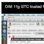 OIM 11g GTC trusted Reconciliation Flat File Feed - Security